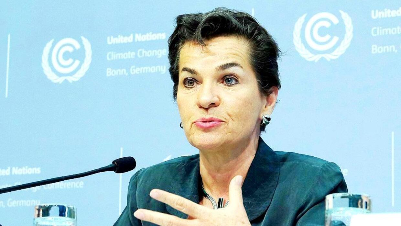 Fotografía tomada en el 2016 cuando Figueres lideraba la Cumbre del Clima.