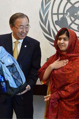 Esta joven paquistaní se ha convertido en la noticia de los &uacu...