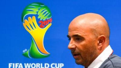 Jorge Sampaoli, técnico de Chile.
