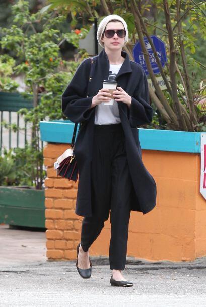 De Anne Hathaway lo único que podemos decir esta semana, es que s...
