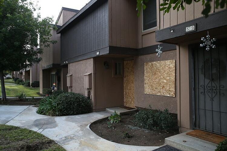 Casa sospechosos tiroteo en San Bernardino