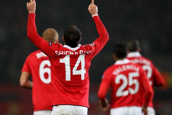 Pero no fue suficiente y el Manchester United se clasificó gracias al ma...