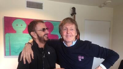 Paul McCartney y Ringo Starr se unen para grabar una nueva canción C5Eyi...