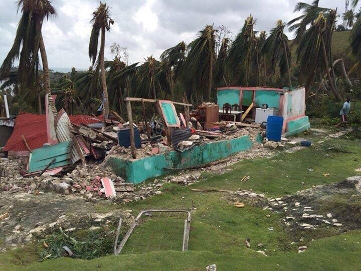 Matthew destroyed many homes and crops on Ile-a-Vache, a poor community...