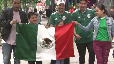 Así celebraron los mexicanos en Nueva York el triunfo de su selección ante el equipo de Corea del Sur