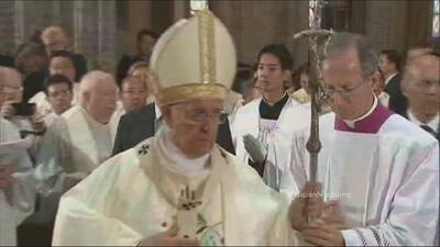 El Papa reza con tristeza por la muerte de sus familiares