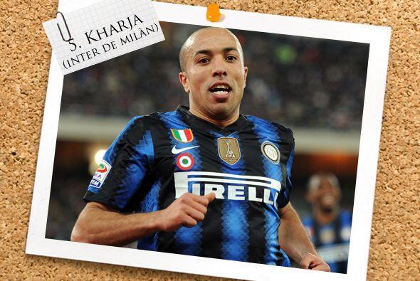 Ya en la mitad de la cancha, el marroquí Houssine Kharja fue el héroe de...