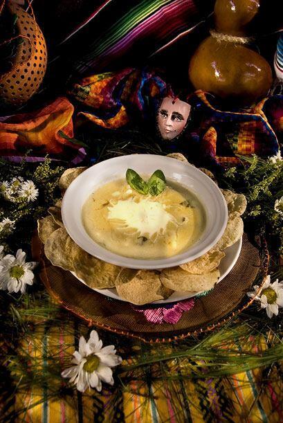 Desde Chiapas, una sopa Chipilin.