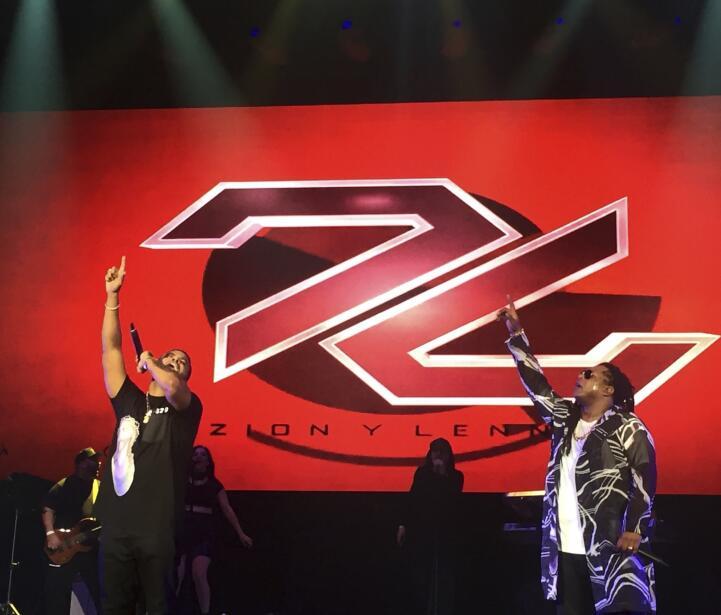 ¡Y no podían faltar Zion y Lenox en Miami!