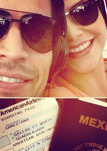 """""""Ansiosos por llegar a nuestro hermoso Mexico"""", dijo Ana. (Mayo 27, 2014)"""