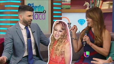 Tanya Charry se enfrentó a Jomari Goyso (y a su opinión) por el vestido que lució Paulina Rubio