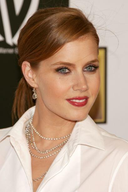 ¿Qué opinan de una Amy Adams con un maquillaje más elaborado? Nosotros c...