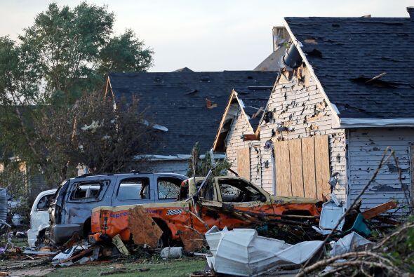 De acuerdo con el Servicio Meteorológico Nacional, el tornado que golpeó...