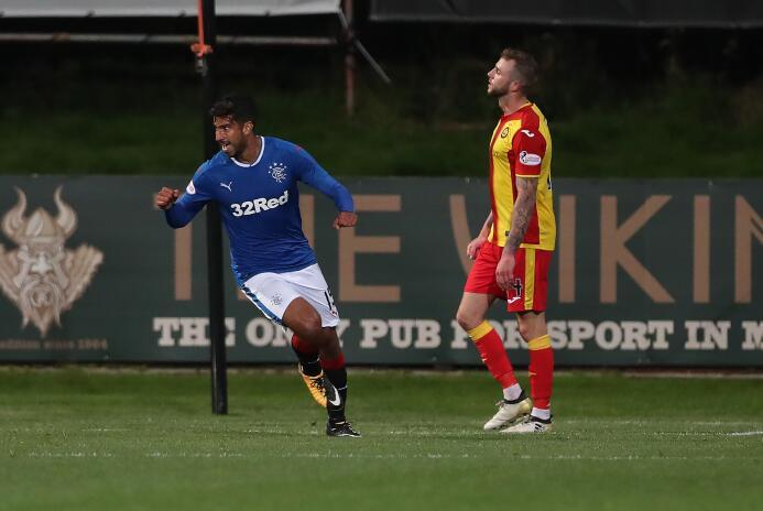 (Premiership) Hamilton Academical 1-[4] Rangers F.C.: Carlos Gullit Peña...