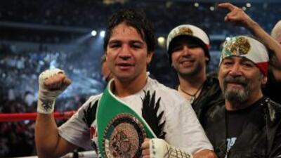 Alfonso Gómez derrotó a Calvin Green