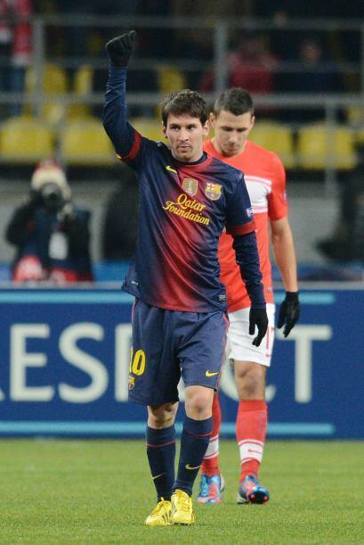 Con Messi como el comandante de esta victoria, Barcelona se impuso en Ru...