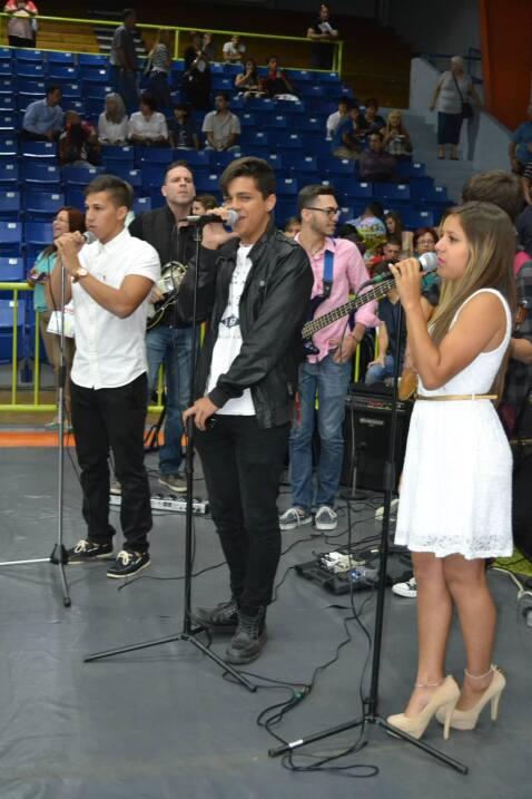 Fabyan pudo lograr su sueño de cantar delante de Ricky. Este chico sí qu...