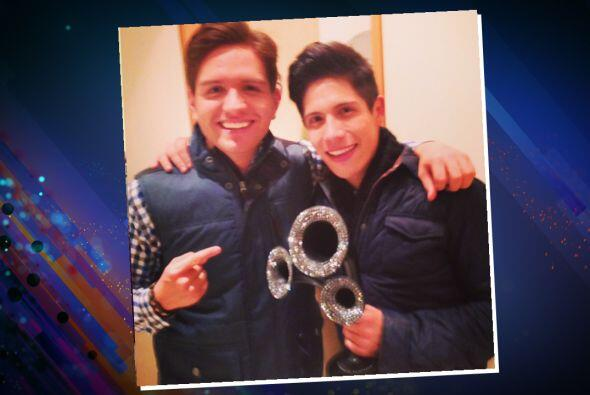 Dos mexicanos que se ganaron el cariño del público.