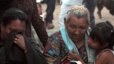 Deudos de las víctimas de la mina Pasta de Conchos exigen a las autorida...