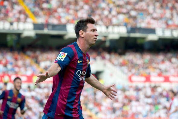 El argentino lleva actualmente siete goles en la liga española,  dos con...
