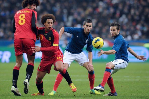 Los belgas, eliminados de la Eurocopa, parecian buscar que no les anotar...