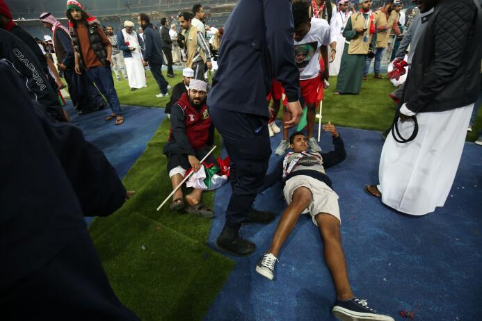 Accidente en Kuwait