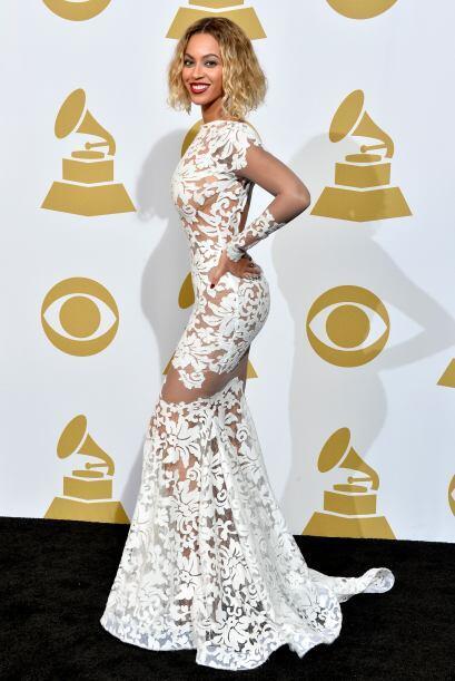 Una de las más sensuales fue Beyoncé, cuyas transparencias aceleraron el...