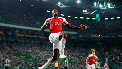 En fotos: Arsenal, imparable en Europa League y líder tras vencer a Sporting en Portugal
