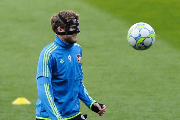 André Schürrle, que se rompió la nariz en el partido...