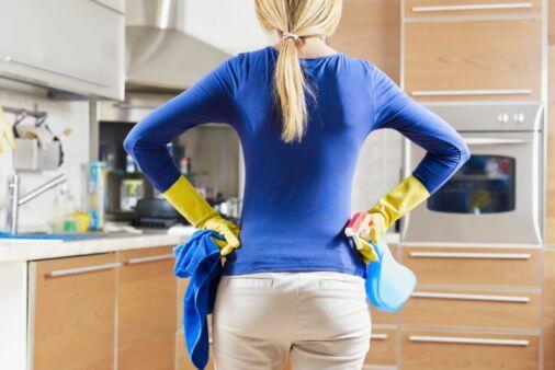 """""""Limpiar la casa. Así tengo más tiempo en el weekend para coger calle!!""""..."""