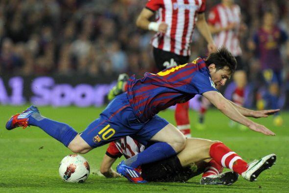 En algunas oportunidades, el Bilbao abusó de las faltas.