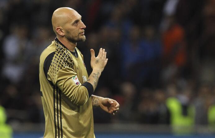 Christian Abiatti (Futbolista): el histórico portero del A.C. Milan es s...