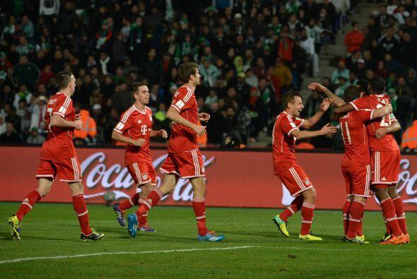 Los alemanes ya tenían en el presente año los campeonatos de Champions L...