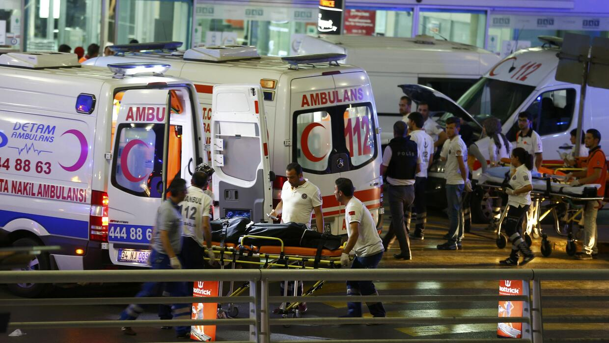 At least 41 people were killed in the June 28 attack on Istanbul airport.