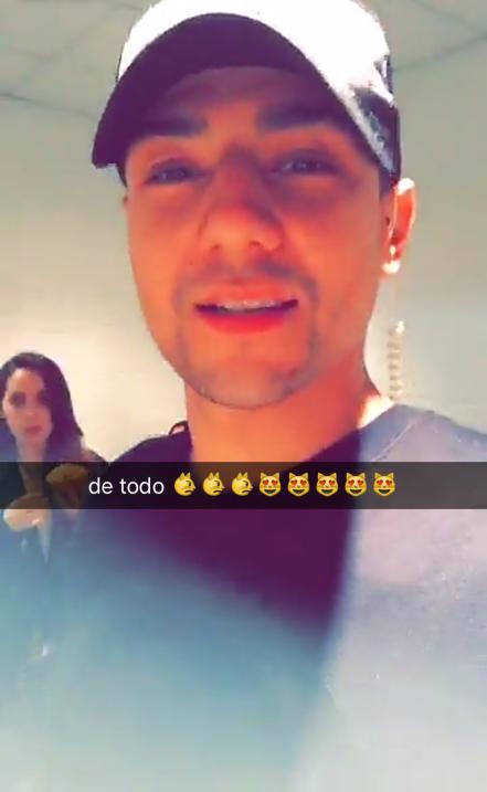 Mira lo que compartieron tus artistas favoritos en Snapchat durante Prem...