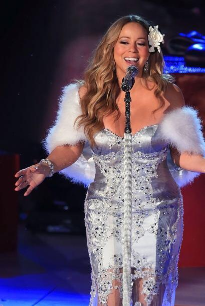 Pero para los fans, Mariah sigue siendo tan bella y jovial como en sus m...
