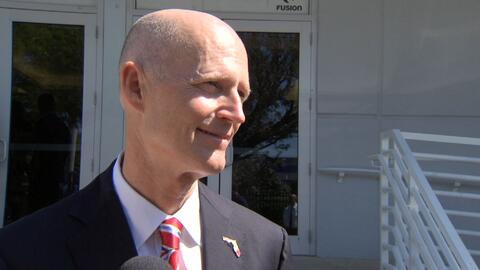 Rick Scott, gobernador de Florida.