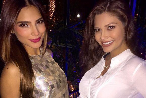 """""""Las pancitas de @Univision"""", mostró Ana. (Enero 13, 2015)"""