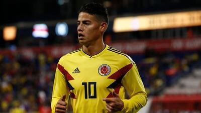 En fotos: James Rodríguez y un crack de 19 años guiaron a Colombia contra Costa Rica