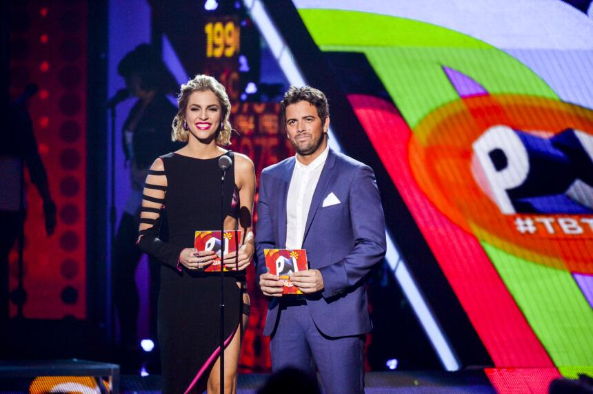 Daniela DiGiacomo y Mane de la Parra presentan los nominados en la categ...