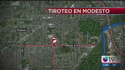 Registran tiroteo en Modesto