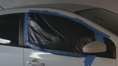 Arrestan al sospechoso de romper las ventanas de 16 vehículos en el noreste de Miami