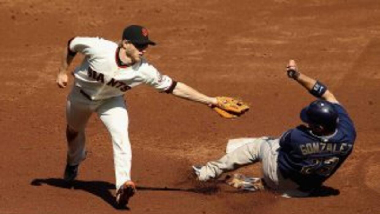 Los Giants no han podido derrotar a los Padres en la última serie de la...