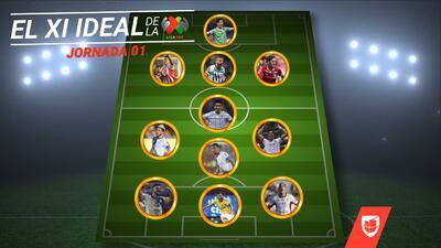 El Once ideal de la Jornada 2 es liderado por Chivas