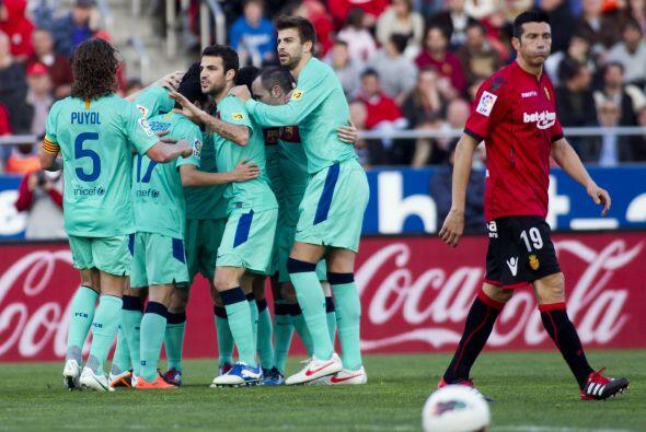 Barcelona festejó un nuevo triunfo, le ganó 2 a 0 al Mallorca y sigue se...