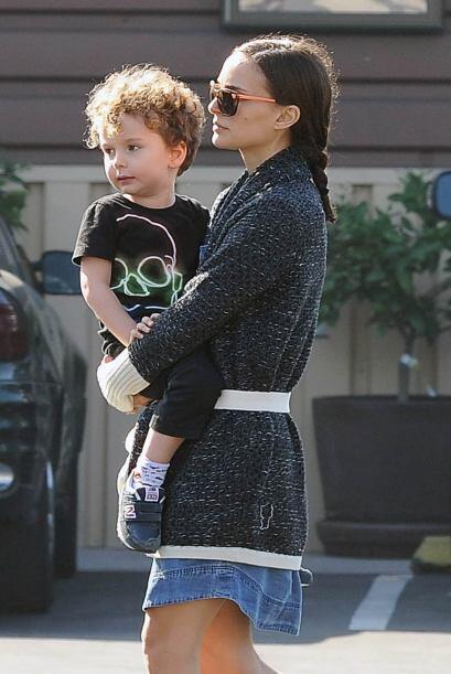 Y su bebé Aleph está divino.
