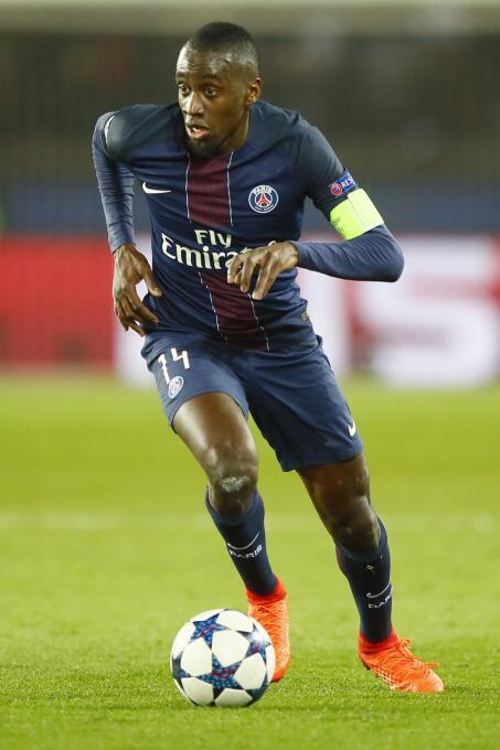 Blaise Matuidi (PSG) podría irse a Italia para jugar con la Juventus.