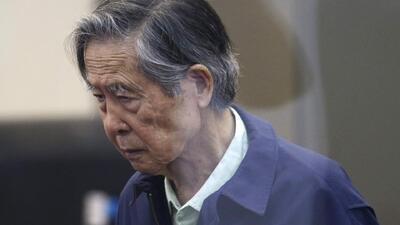 Expresidente peruano Alberto Fujimori ingresa a un hospital tras conocerse la cancelación de su indulto