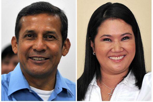 Perú decidirá en una segunda vuelta, el 5 de junio entre Ollanta Humala...