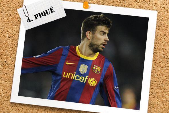 Pese a ser un defensa, Gerard Piqué sigue con sus muestras de buen manej...